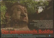 CHINA MOVIE  - MYSTERIOUS BUDDHA  * EAST GERMAN small POSTER