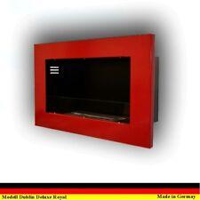 Gel y Etanol Chimenea Caminetti Cheminee Fireplace Dublin Deluxe Royal Rojo