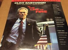 IN THE LINE OF FIRE (LASER DISC) CLINT EASTWOOD SEALED BRAND NEW