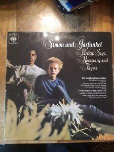 SIMON & GARFUNKEL PARSLEY, SAGE, ROSEMARY & THYME VINYL LP 1966 (MONO)
