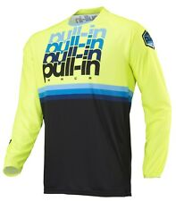 Maillot Pull-in BMX Race Adulte Jaune Fluo Ref: 185-9003010 - Kenny