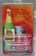 2008 Hot Wheels Rhode Island HW Club Ladies Dinner Pink VW Beetle - Custom/Rare