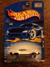 70 1970 Oldsmobile 442 Hot Wheels White Gold