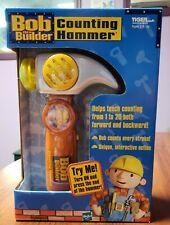 New ListingNew Sealed 2001 Tiger Electronics Bob The Builder Counting Hammer Education Toy