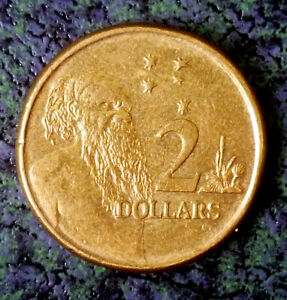 Australia 2008 Two Dollars QE II 'Nice Details'.