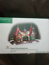 Dept 56 Welcome To Elf Land Gateway Entrance North Pole Series #56431 - New