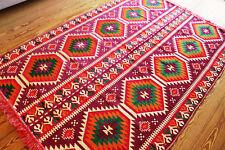 135 cm x 200 cm orientale Tappeto, kilim, Carpet aus damaskunst S 1-4-72