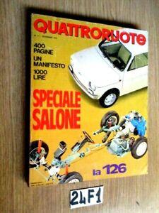 QUATTRORUOTE SPECIALE SALONE LA 126        (24F1)