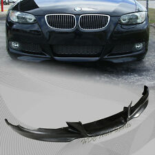 For 2007-2010 BMW E92 2 DR Coupe AC Style Black Polyurethane PU Front Bumper Lip