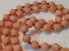 """necklace 52 cm 20.5"""" (m698) Old authentic Coral beads 31 gram"""