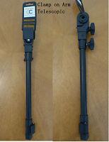 "Clamp on Accessory Arm Telescopic for CARP CHAIR/SEATBOX Sea Fishing15"" THA015-1"