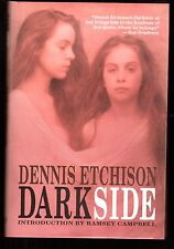 SIGNED DARKSIDE •  Dennis Etchison • 1/750 HC • Intro Ramsey Campbell