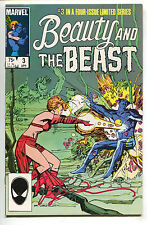 Beauty And The Beast 3 Marvel 1984 VF Signed Bill Sienkiewicz Dazzler X-Men