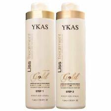 Ykas Gold Liss Treatment Brazilian Progressive Kit - 2x1000ml