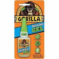 Gorilla Glue Super Glue Gel BIG 15g Bottle, No Run-Control
