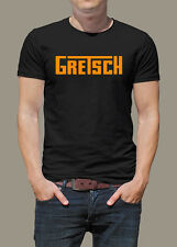 T-Shirt GRETSCH Guitar   Gr. S - XXXL - Malcolm Young AC-DC, Bo Diddley