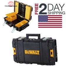 "DEWALT ToughSystem 22"" Tool box Lockable Storage Mobile Portable Chest Stackable"