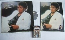 Lot: MICHAEL JACKSON Thriller Songbook / Notes & Vinyl LP GREECE + Dangerous MC