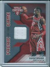 2015-16 TOTALLY CERTIFIED Fabric Of The Game Dwight Howard /99