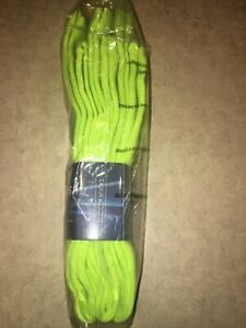 Neon Green Socks Unisex Soccer Football Sports Team 3 Pair Pack Size Medium 9-11