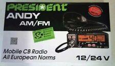 CB Radio President Andy AM/FM