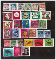 s31710) GERMANY 1966 MNH** Year set 25v