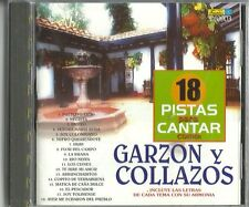 18 Pistas Para Cantar Como Garzon Y Collazos Latin Music CD New