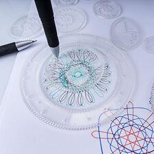 US Spirograph Deluxe Set Design Tin Set Draw Spiral Designs Interlocking Kid Toy