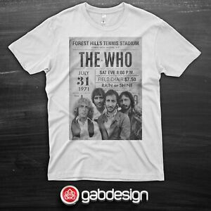 T shirt The Who tribute  - 100% cotton - select your size