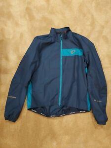 PEARL IZUMI Windbreaker Jacket Cycling Mens Large Bicycle Blue