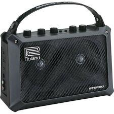 "Roland Mobile Cube 5-Watt 2x4"" Battry-Powered Guitar Combo Amp +Picks"