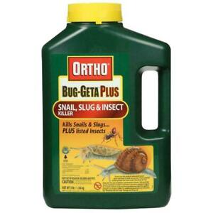 Ortho Bug-Geta Plus Snail Slug & Insect Insecticide Granules 3 lb