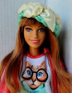 Barbie Doll Summer Style Glam Vacation Articulated Arms Redressed Beautiful 2014