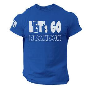 Funny Let's Go Brandon Joe Biden T Shirt Trump Supporters Flag Elections 2024