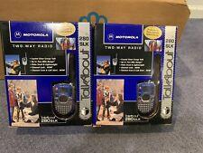 Pair Motorola Talkabout 280 Slk Two Way Radios In Original Packages