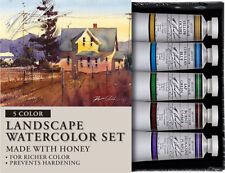 M Graham Artist Watercolour Paint - Landscape Set of 5 - 15 ml Tubes