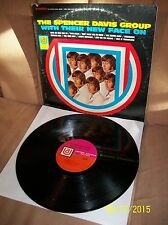 SPENCER DAVIS GROUP With Their New Face On 1966 U/A LP UAS 6652 VG/VG+
