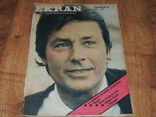 Ekran 5/1984 polish magazine Alain Delon Gabrielle Lazure Michele Morgan J Gabin