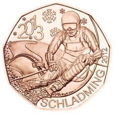 5 EURO AUTRICHE 2012 UNC - CHAMPIONNATS DU MONDE DE SKI ALPIN, SCHLADMING 2013