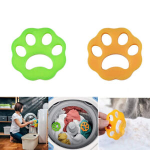 Pair Pet Hair Remover for Laundry Reusable Washing Machine Dog Cat Fur Catcher U