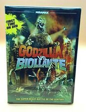 Godzilla vs. Biollante (DVD,2012)Factory Sealed /USA FORMAT/ NTSC/ RARE/Region 1