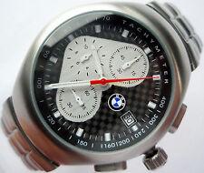BMW Carbon Fiber M Power DTM Motorsport Racing Sport Design Chronograph Watch