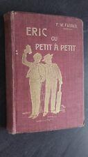 ERIC OU PETIT A PETIT F.W. FARRAR 1924 FRONTISPICE DELACHAUX ET NIESTLE ABE