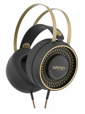 Betron Retro Over Ear Headphones - Black