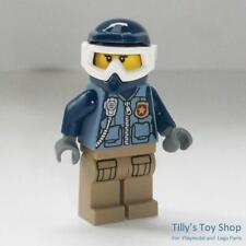 Lego Minifig - Mountain Police - Female Officer  - ID CTY854 - NEW - RARE
