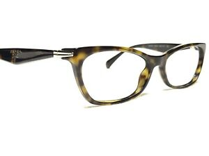 Prada VPR15P 2AU-1O1 Women's Tortoise Cat's Eye Rx Eyeglasses Frames 53/16~135