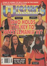 Ed613 Konnan signed Wrestling Magazine Pwi poster w/Coa *Please Read*