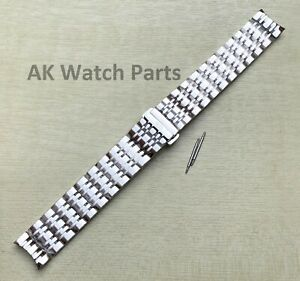 19mm Strap Fits Tissot Carson T085407A T085410A Bracelet/Band Watch Link Spare