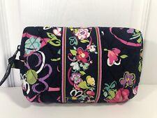 New Vera Bradley Medium Cosmetic Bag In Ribbons