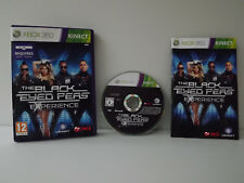 The black eyed peas Experience - Game xbox 360 complete with record - Kinect